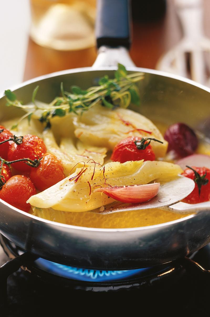 Fenchel-Safran-Gemüse