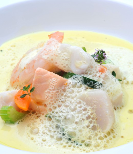Fischsuppe mit Schuhbeck Curry