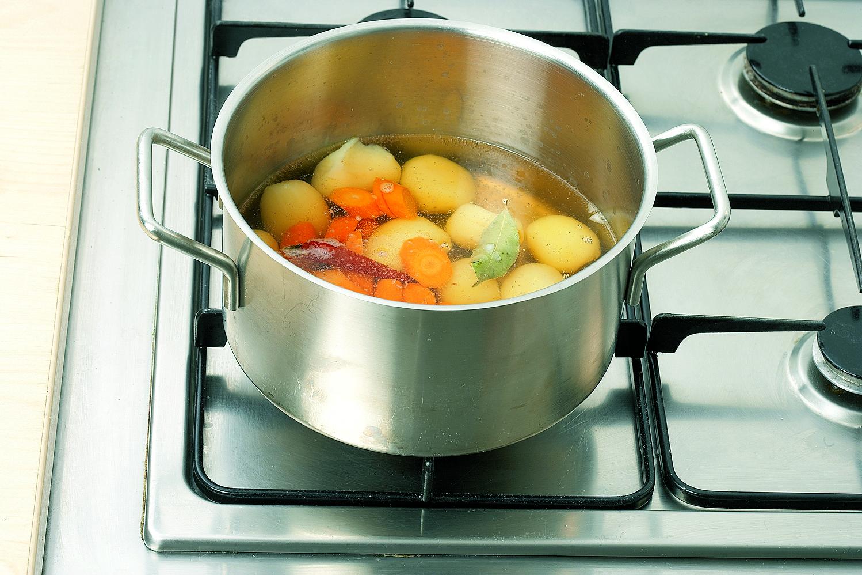 Getrüffelte Kartoffelsuppe