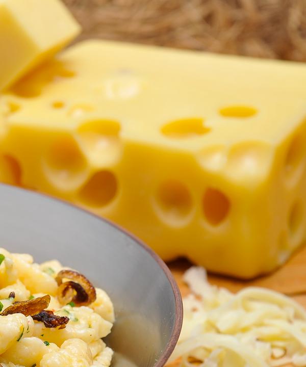 Gratinierter Käse