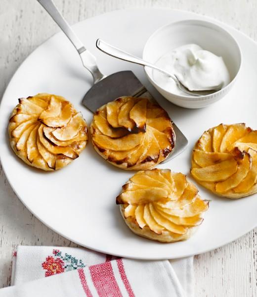 Karamelliesierter Apfeldatschi