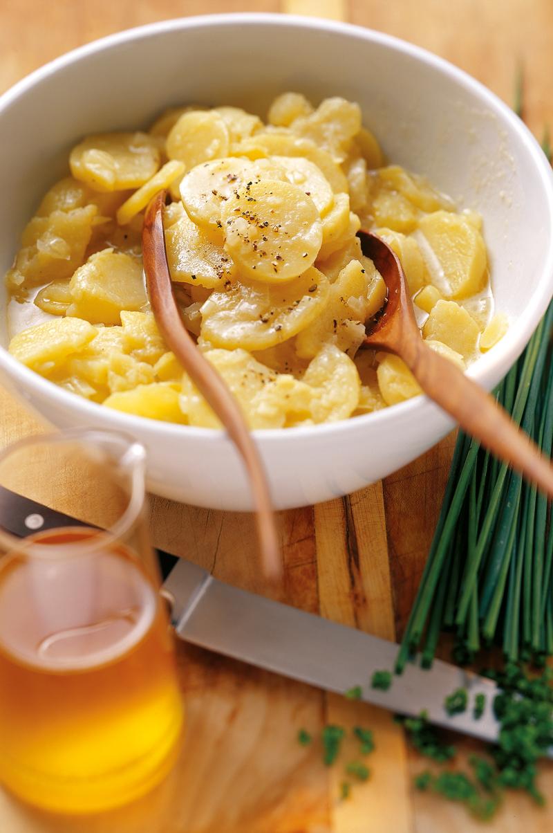 Kartoffelsalat mit Radieserln