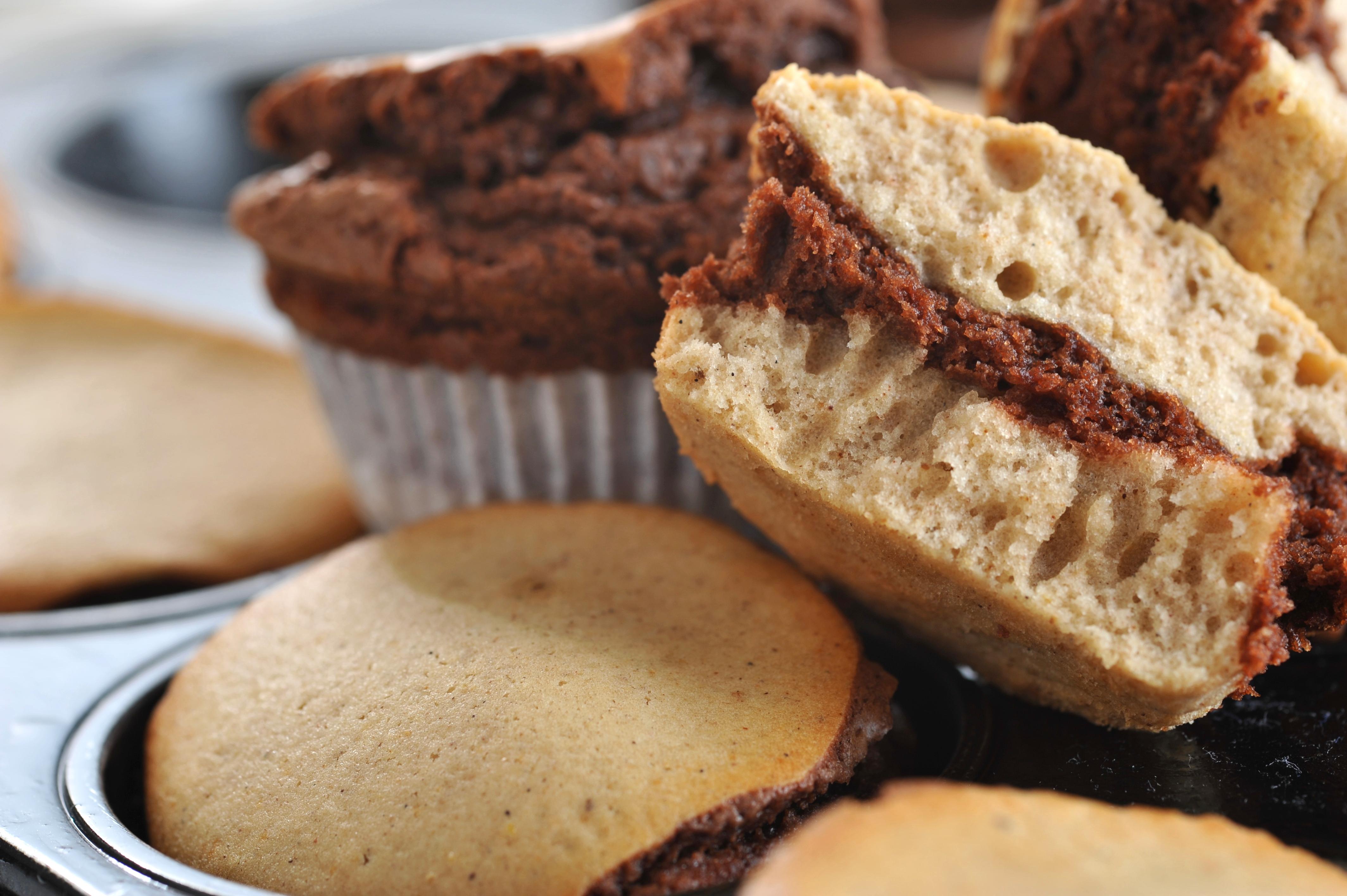 Marmorierte Muffins