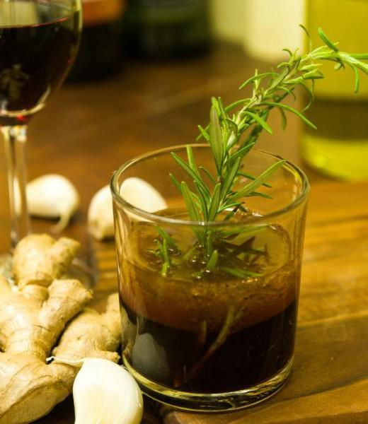 Portwein-Vinaigrette