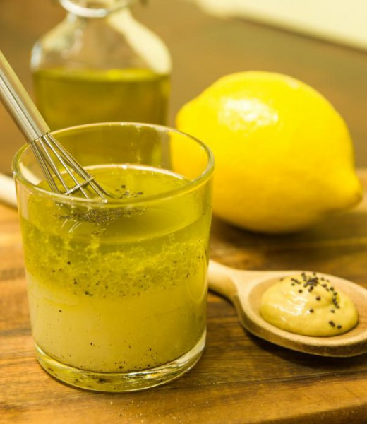Zitronen-Dressing