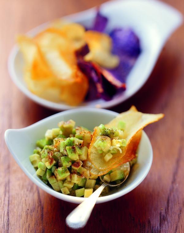 Avocado-Salsa mit Zimt, Knoblauch und Vanille
