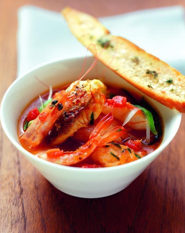 Fischsuppe auf provenzalische Art