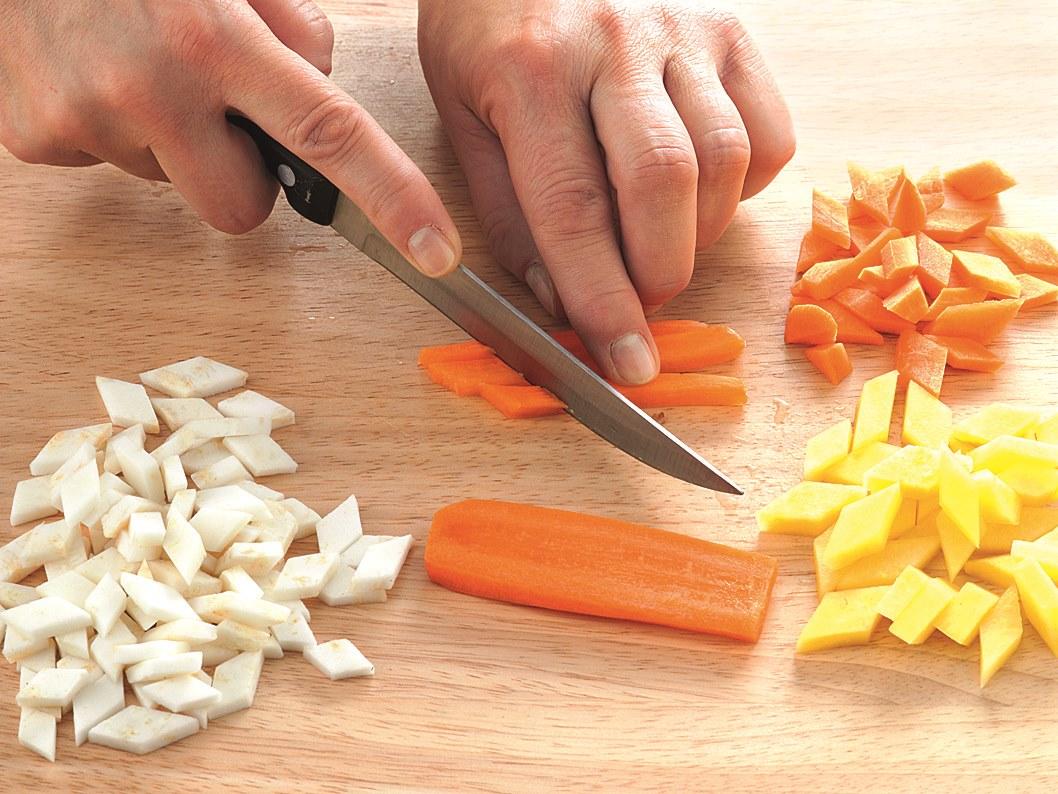 Gemüsepfanne mit Lammbolognese