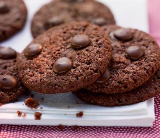 Schoko-Ingwer-Cookies mit Orangenaroma