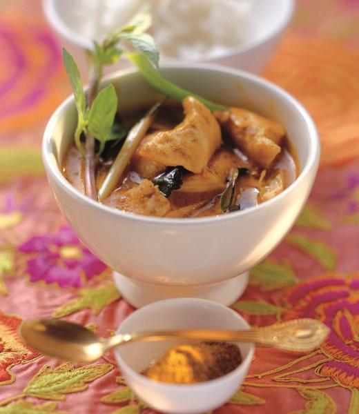 Thaicurry mit Huhn