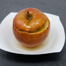 Bratapfel mit Granola-Fülle