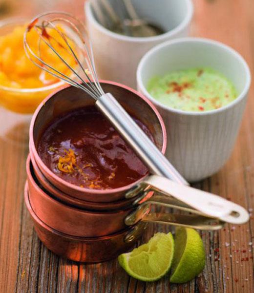 Kräuter-Mayonnaise mit Curry